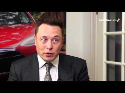 Elon Musk – Visions for Tesla, the auto industry and self-driving Teslas (Interview in Denmark 2015)