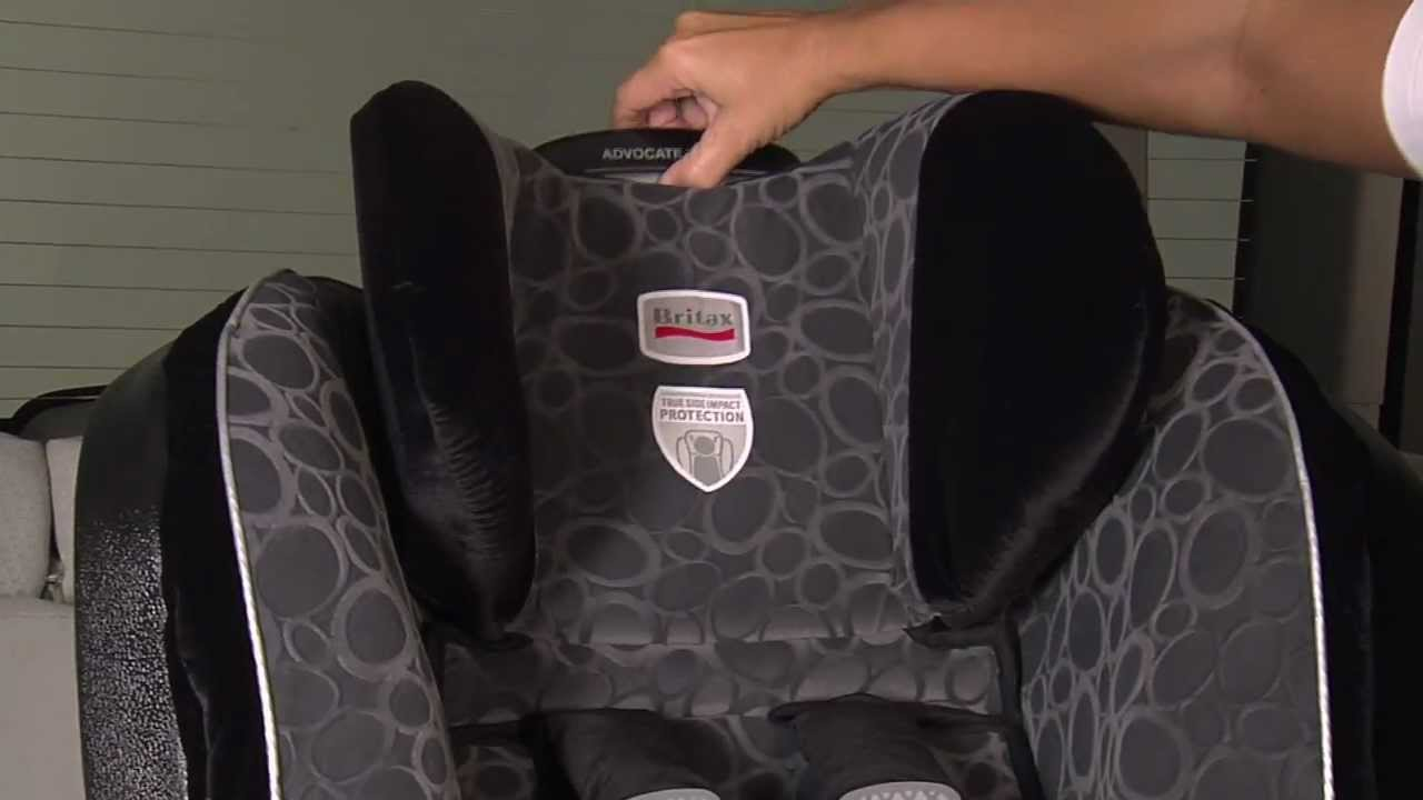 Britax G3 Convertible Car Seats Adjusting The Harness