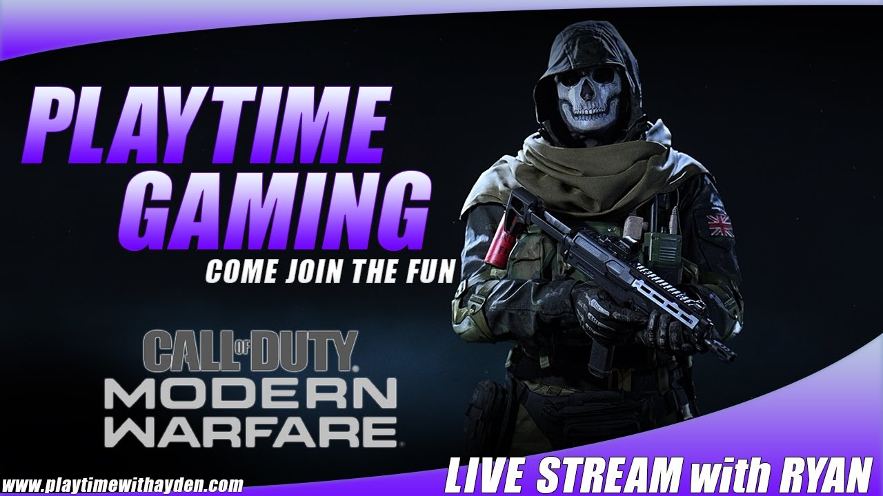 Call Of Duty Modern Warfare - Playtime Gaming Live PS4 Broadcast - TDM