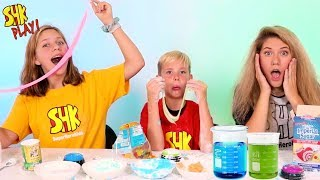 TOP 5 Science Experiments with Food, Edible Slime! States of Matter for Kids