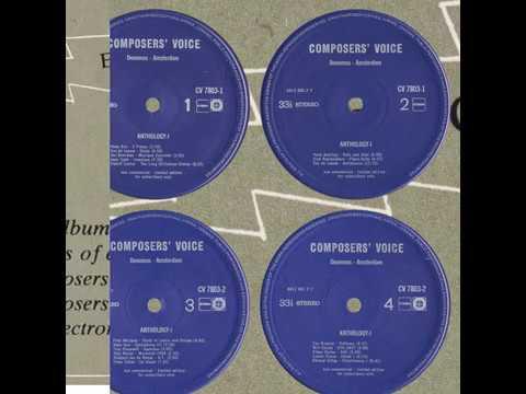 Hans Kox; Three Pieces For Electronic Organ (1955)