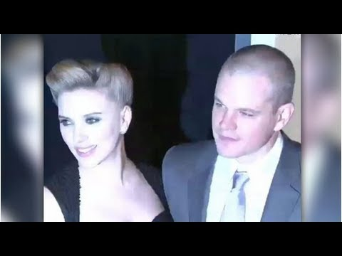 "Matt Damon Says Any Guy Who Dates Scarlett Johansson ""Is Going to Be Very Lucky"""