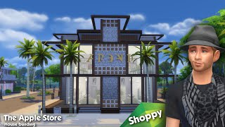 The Sims 4: House Building - The Apple Store (shoppy)