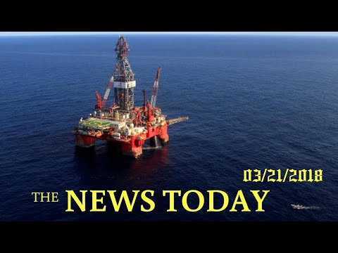 Record U.S. Oil Offshore Lease Sale To Test Trump Energy Push | News Today | 03/21/2018 | Donal...