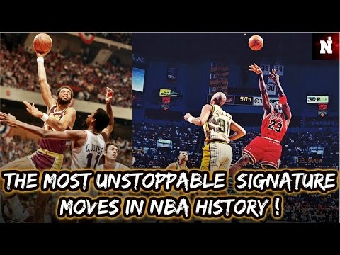 The Most Unstoppable Signature Moves in NBA History !