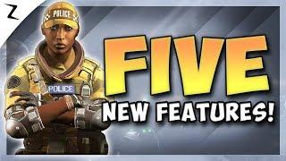 5 New Features! New Season! - Rainbow Six Siege