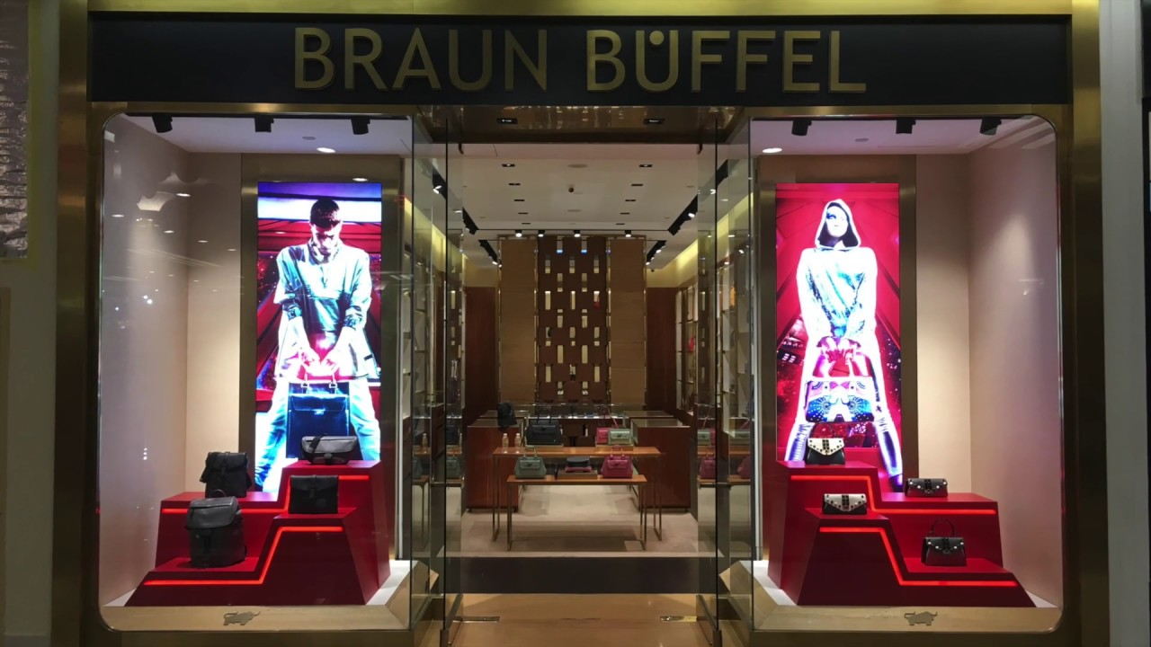 Braun Buffel New Year window display 2019
