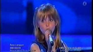 Zara Larsson My Heart Will Go On Celine Dion (Titanic Theme) - Final Talang 2008