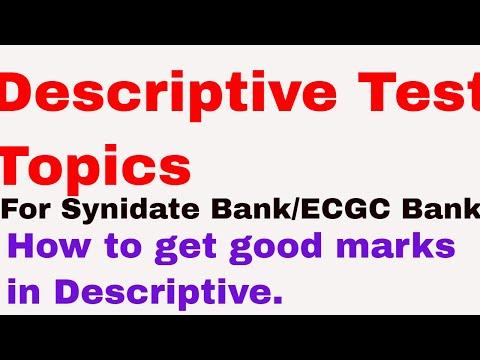 Видео Topics for descriptive essay writing
