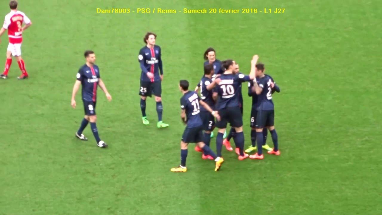 PSG / Reims 20.02.2016 : 4-1 (L1 J27) 4/4 : Juste après