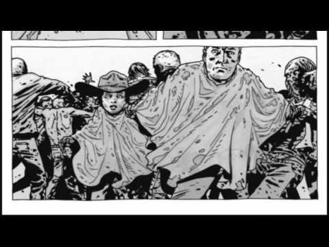 Carl Grimes pierde un ojo - The Walking Dead (Cómic En Español)