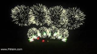 Synchronized Fireworks Show - 2