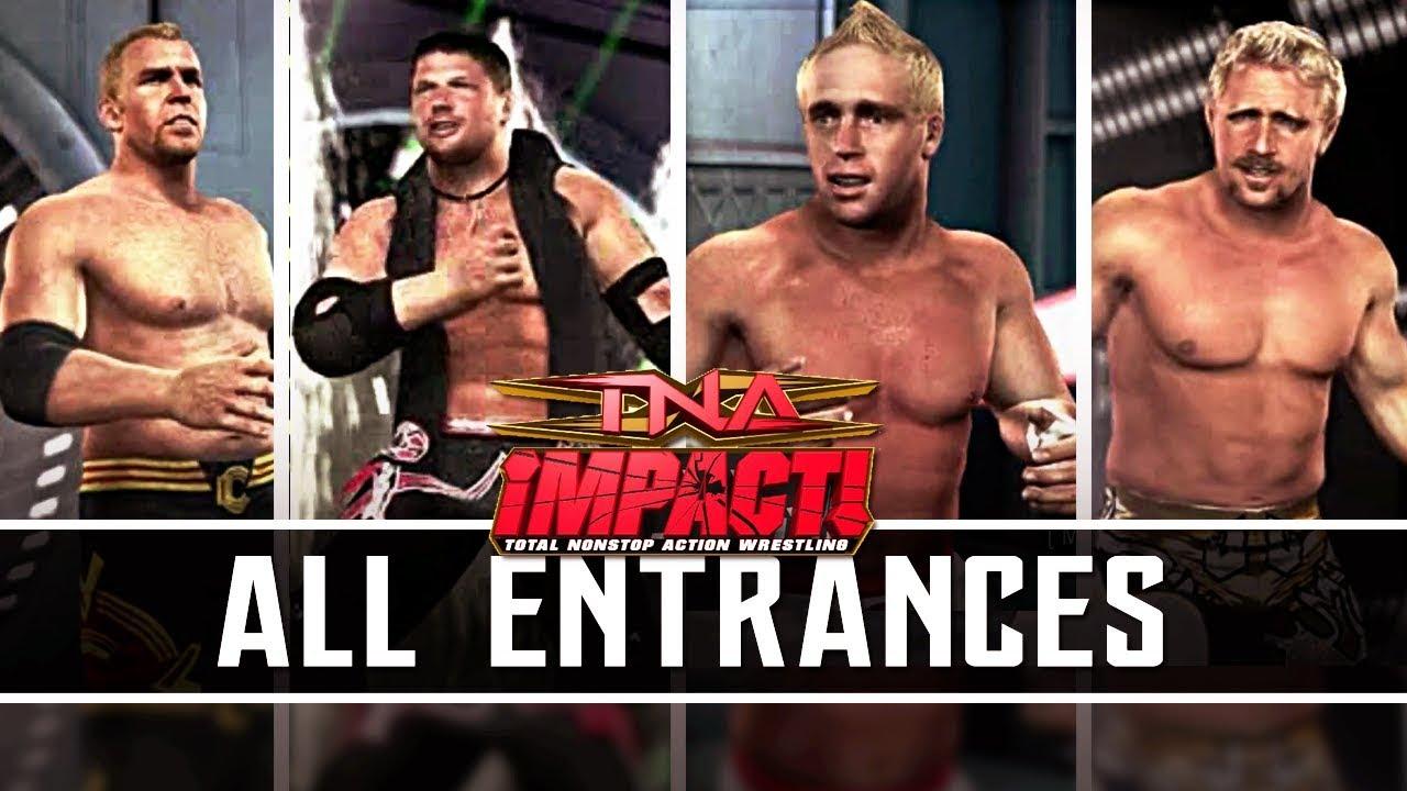 TNA Impact | All Entrances PS3/Xbox 360/PS2 1080p HD