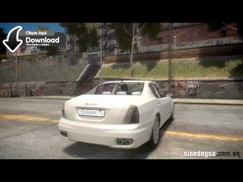 Maserati Quattroporte V GTA IV Mod