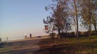 Приморско-Ахтарск,набережная,зима!(15 января 2015г. О такой погоде можно только мечтать!, 2015-01-18T04:53:11.000Z)