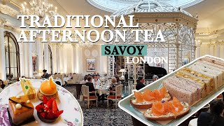 Stunning AFTERNOON TEA at Savoy - Best Afternoon Tea in London thumbnail