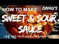 How to make genuine Chinese takeaway sweet and sour sauce at home