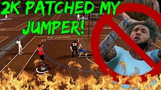 DID 2K PATCH MY OP JUMPSHOT? | HALF COURT GAME WINNER! TOP 5 UNGUARDABLE! - NBA 2k17 MyPark