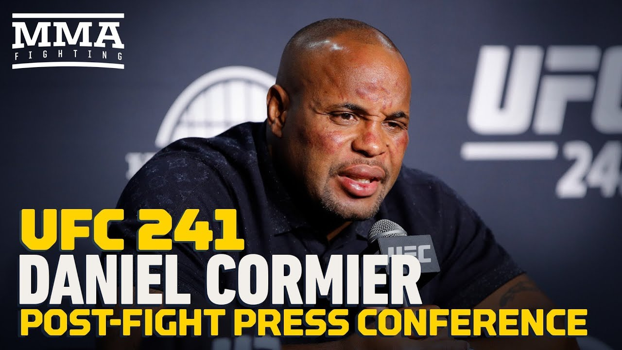 UFC 241: Daniel Cormier Post-Fight Press Conference - MMA Fighting