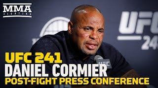 #UFC 241: Daniel Cormier Post-Fight Press Conference - MMA Fighting
