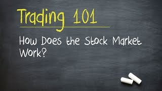 Trading 101: How Does the Stock Market Work?
