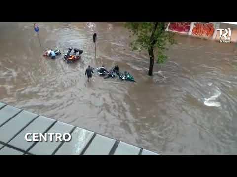 Fortes chuvas desta quarta-feira já causam pontos de alagamentos em Curitiba