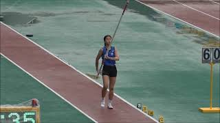 제102회 전국체육대회 육상 여고 장대높이뛰기