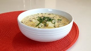 Cheesy Potato Sausage Soup - Savor The Flavors - Brittany Allyn