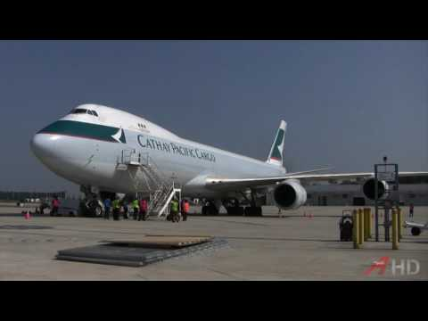 [WORLD RECORD] Raw Video: Cathay Pacific 747-8 Loading Operations, 05 July 2013