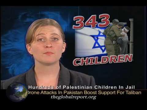 Hundreds Of Palestinian Children In Jail