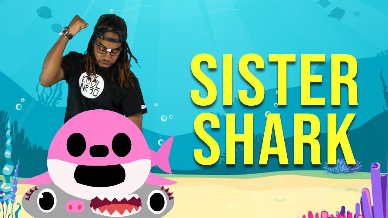 Nerd Smash Sister Shark - BTS