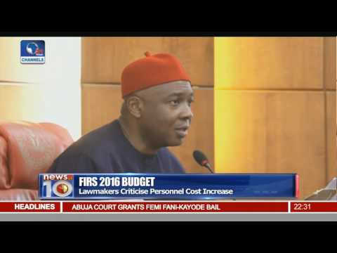 FIRS 2016 Budget: Senate Reject Finance Committee