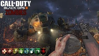 GOROD KROVI Y ZETSUBOU NO SHIMA EASTER EGGS EN SOLO | CALL OF DUTY: BLACK OPS 3 ZOMBIES