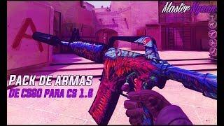 Pack de Armas Del CS:GO Para el Counter Strike 1.6 2016 l 7# l