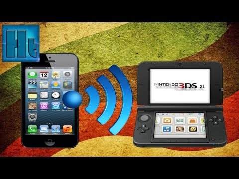 How to connect your Nintendo 3ds to a phone hotspot