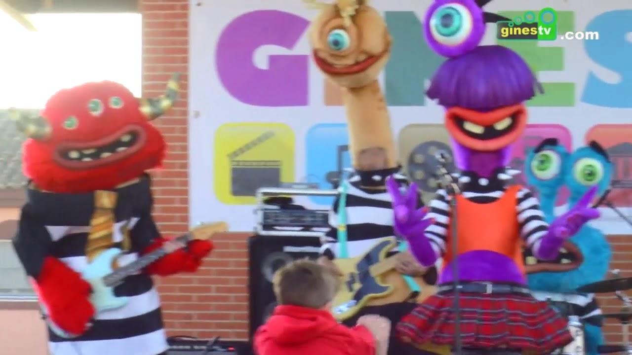 Festykids en la inauguracion del Parque Municipal de Gines