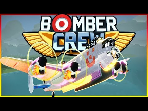 Bomber Crew Gameplay - EMERGENCY LANDING AND SUBMARINE MISSIONS! - Bomber Crew Gameplay & Highlights