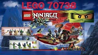 Обзор LEGO НИНДЗЯ ГО Корабль Дар Судьбы 70738 на русском - Lego Ninjago 2016 Final Flight