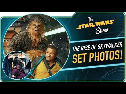New Photos From Star Wars: The Rise Of Skywalker!