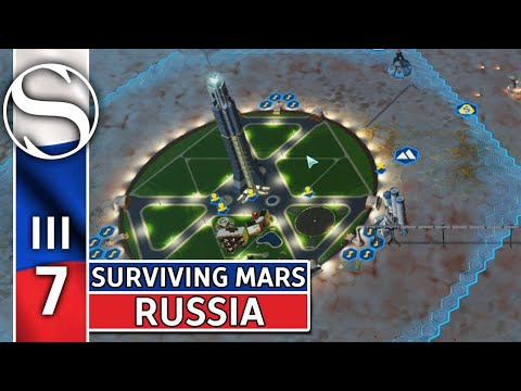 #7 Russian Cover Up - Surviving Mars - Surviving Mars Gameplay