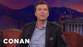 James Comey Reassures Nervous Americans  - CONAN on TBS
