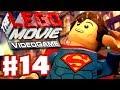 The LEGO Movie Videogame - Gameplay Walkthrough Part 14 - Superman (PC, Xbox One, PS4, Wii U)