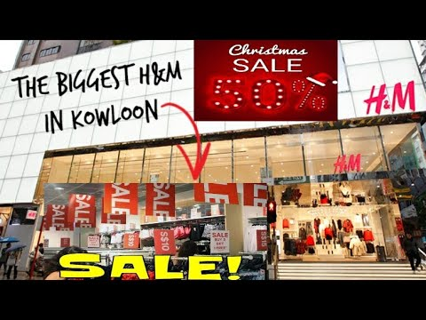 The Biggest H M Outlet In Kowloon Christmas Sale 50 To 70 Off