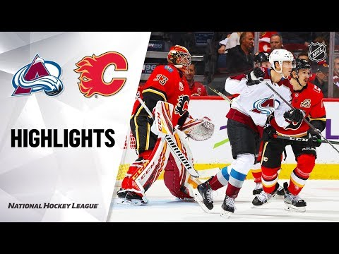 NHL Highlights | Avalanche @ Flames 11/19/19