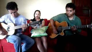 hino ccb 445 com viola caipira e violão.. Genilson  kelly  e  jhon..
