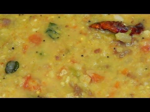 Andhra Tomato Pappu - Bachelor's Recipe