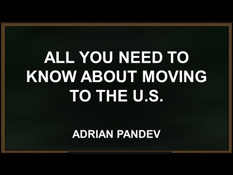 Webinar on All you need to know about moving to the US