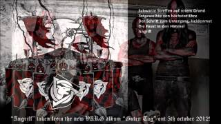 """Varg - """"Angriff"""" HD (2012) official - with lyrics - from the new album """"Guten Tag"""""""