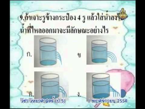 128 P5sci 541101 B วิทยาศาสตร์ป 5 แนะนำรายวิชาวิทยาศาสตร์ป.5