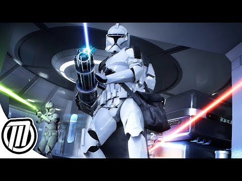 Star Wars Battlefront 2 THE CLONE WARS   4k 60fps, Insane Realism